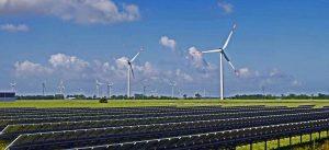 zonne - en wind energie